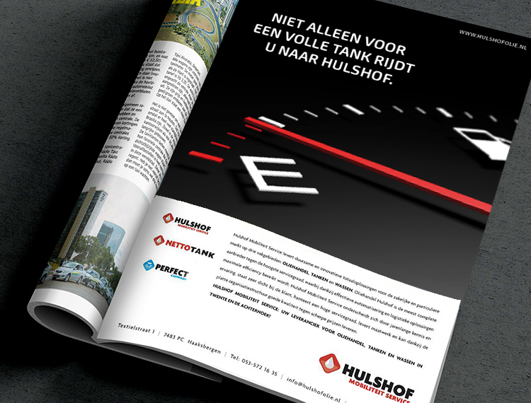 Advertentie Hulshof